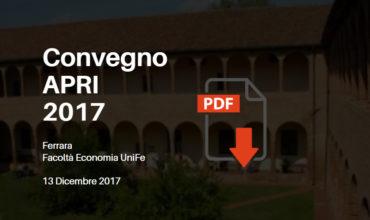 Slide Convegno APRI 2017