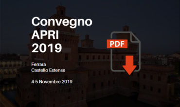 Slide Convegno APRI 2019